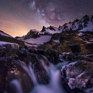 Noc v Malej Studenej doline