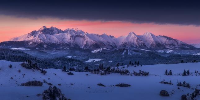 Zima pod Tatrami