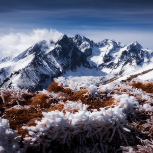 Koniec zimy v Tatrach
