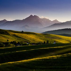 Vlnky, kopce Tatry