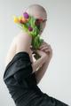 Oliver a tulipány