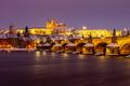 Vzpomínka na sníh v Praze