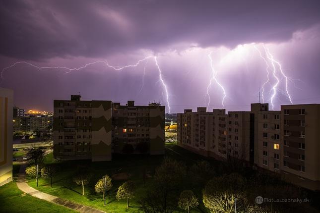 Prvá poriadna búrka