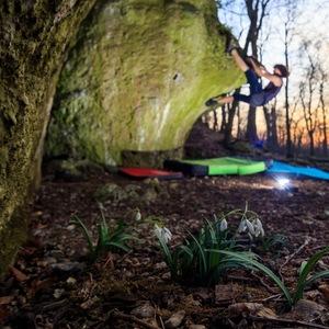Jarný bouldering