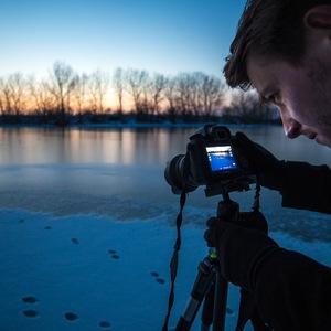 Pri zamrznutom jazere...
