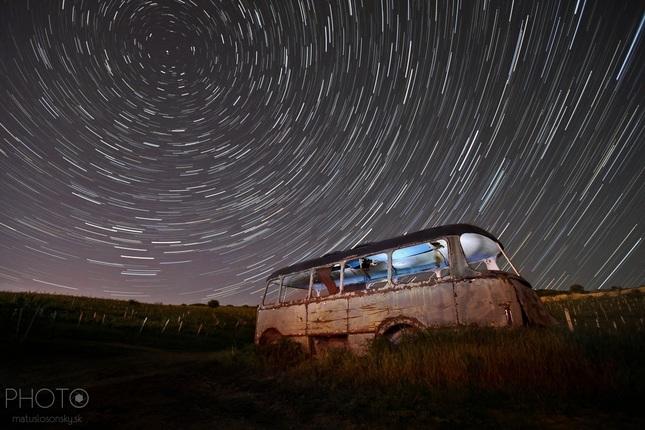 Night traveling...