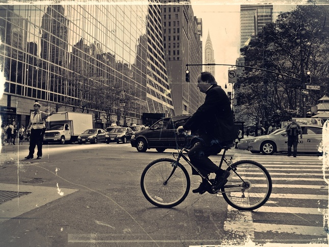 I want to ride my bicycle...