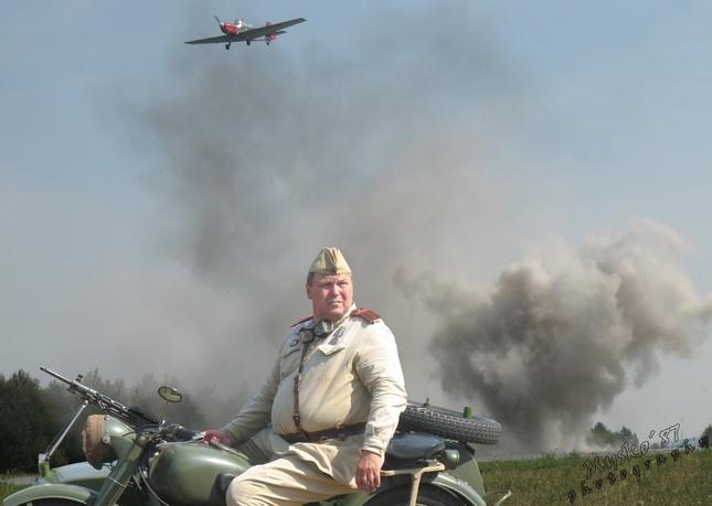 veterán počas boja