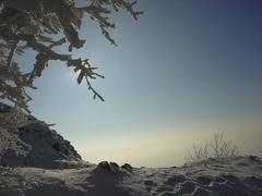 Dýchla zima, zaškúlilo slnko