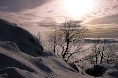 V snehovom objatí