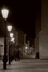 V nočných uličkách