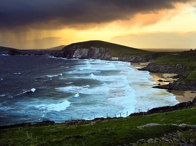 búrka nad morom