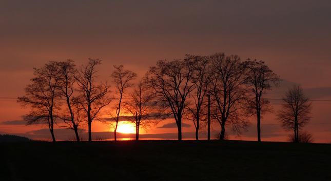 Dnesny Zapad Slnka