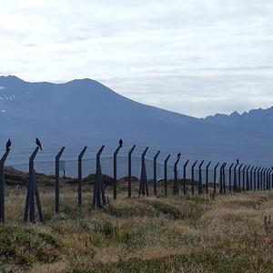 Ushuaia -cestou na letisko