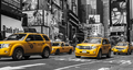 NY - Yellow taxi - Times Square