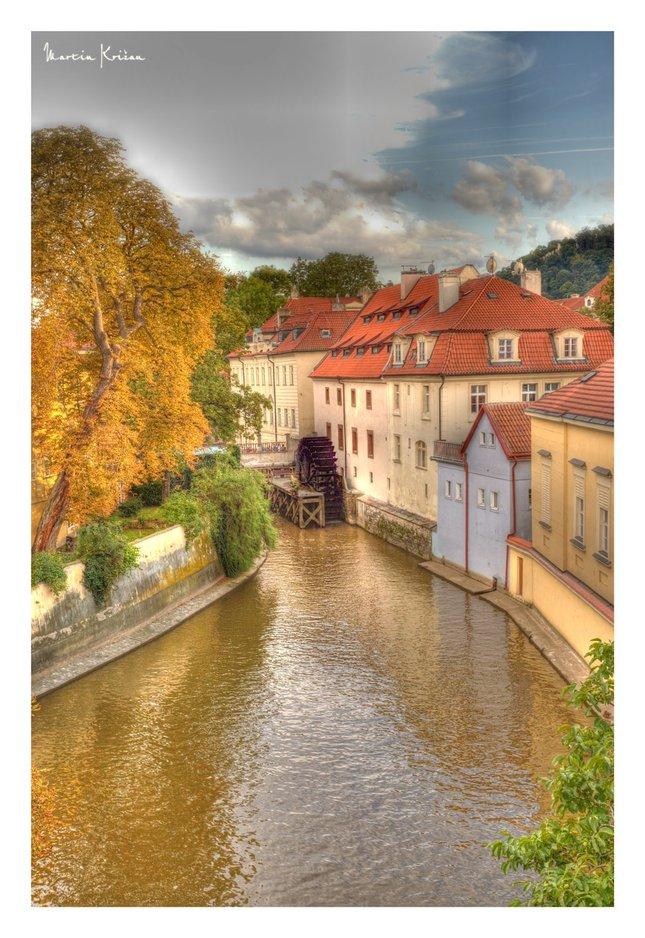 Nad Čertovkou - Praha - HDR