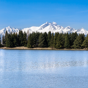Spišská Belá, jazero