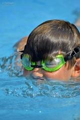 Nádejný plavec
