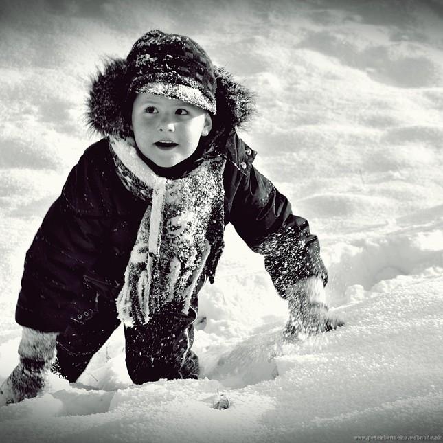Brodenie snehom
