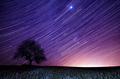 Sám pod nočnou oblohou