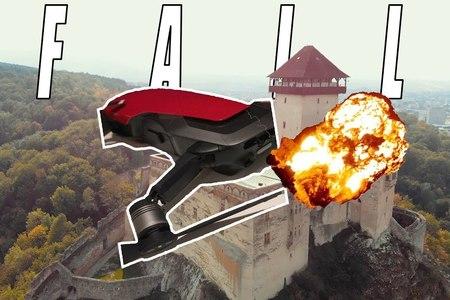 Nabúral som dronom do Trenčianskeho hradu