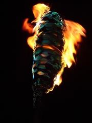 Beltane torch