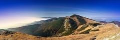 Ráno na hrebeni Malej Fatry