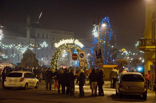 Silvester 2011 Banská Bystrica