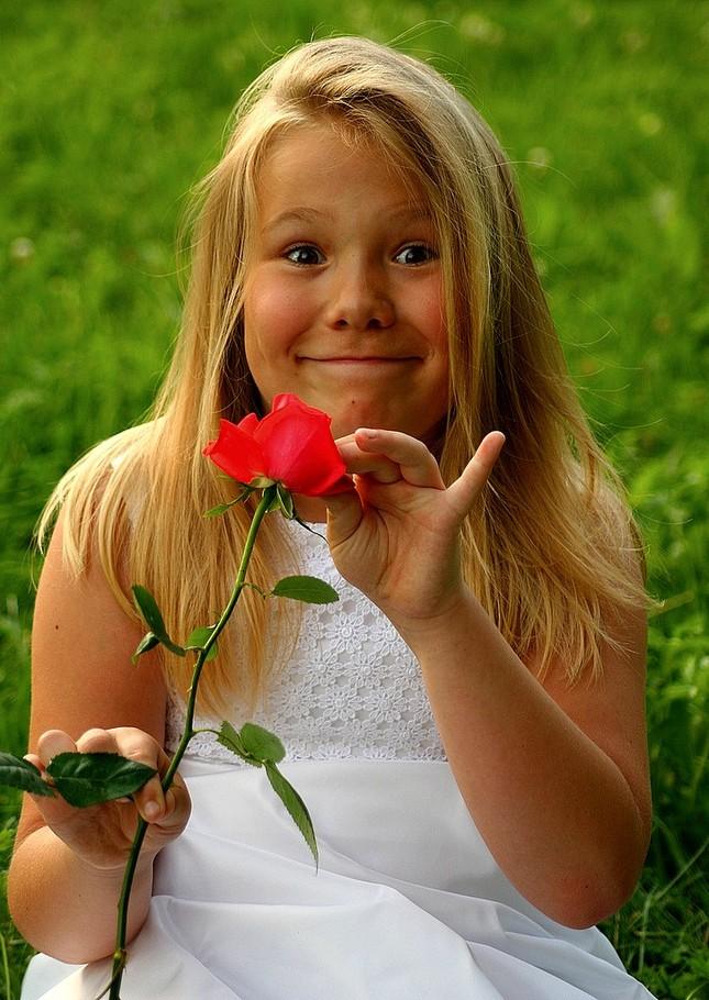 Anjelik s rožkami :)