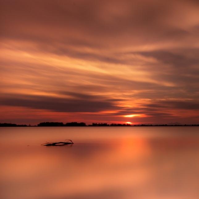 Pokojný súmrak ....