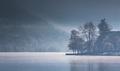 Hmla na jazere