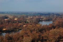 výhľad cez Moravu do Rakúska