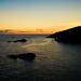 západ slnka v Montenegru