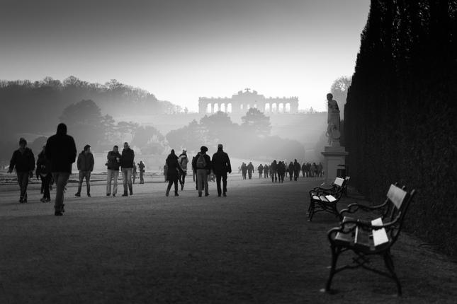 Glorietta v hmle