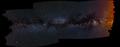 Mliečna dráha - panoramaticky
