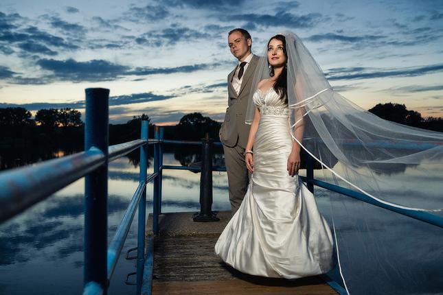 večerno - svadobná