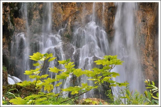 Plitvice Vodopád