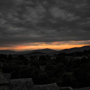 Západ slnka v Lipovníku