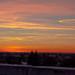 Západ slnka nad Mníchovom