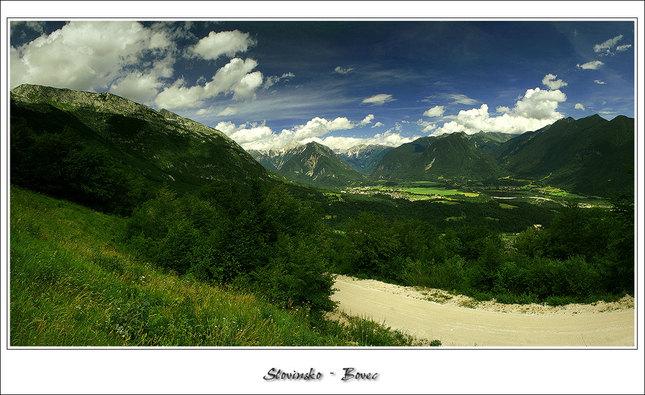 Slovinsko- Bovec