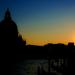 západ slnka v Benátkach