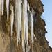 ľadové stalaktity