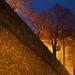 hradný múr inak