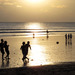 Fotbal na Kuata Beach, Bali