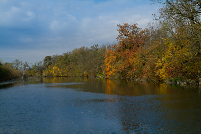 Malý Dunaj v septembri