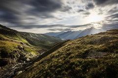 Ráno na Kaukaze