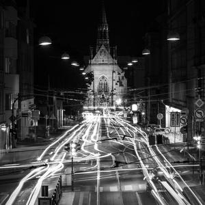Večer v Brne
