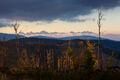 Západ v jesennej divočine