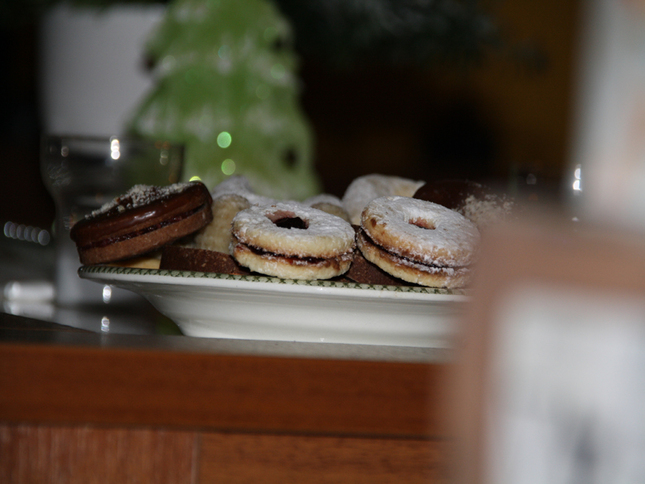 koláče na stole :D