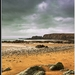 Irish coast...